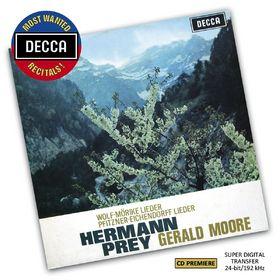 Decca's Most Wanted Recitals!, Wolf: Mörike Lieder - Pfitzner: Eichendorff Lieder, 00028948081721