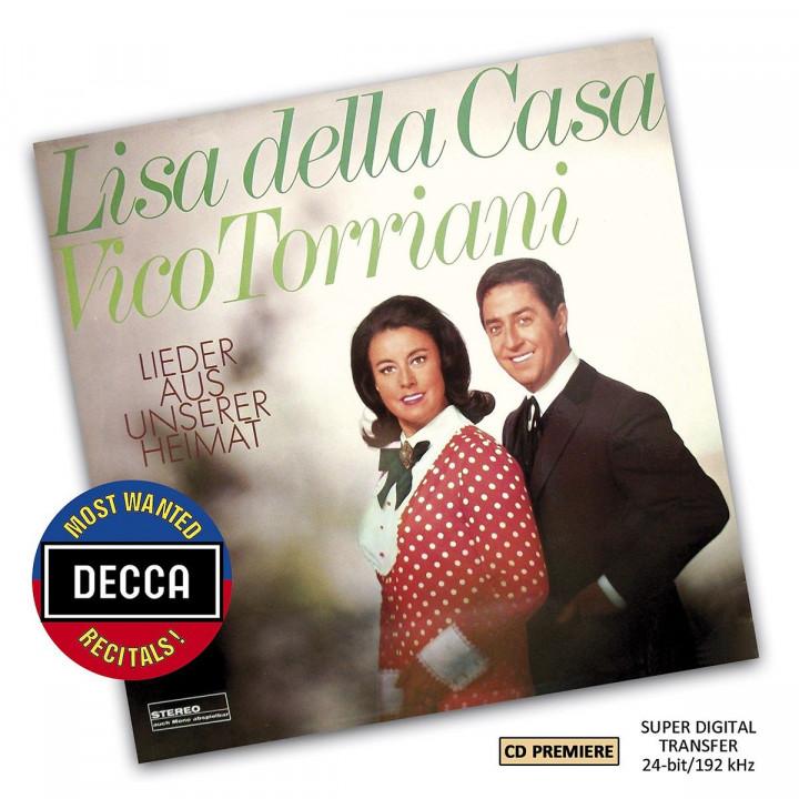 Lisa Della Casa & Vico Torriani - Lieder Aus Unserer Heimat