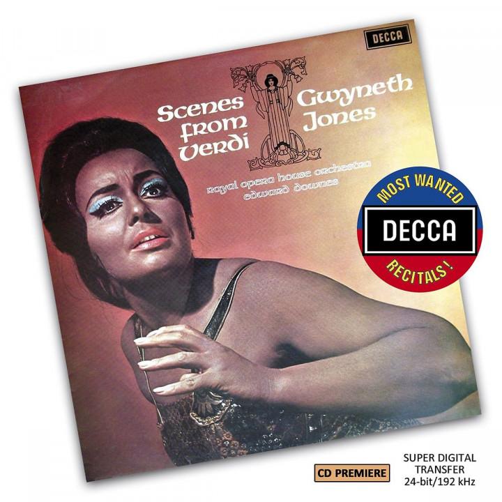 Gwyneth Jones - Scenes From Verdi