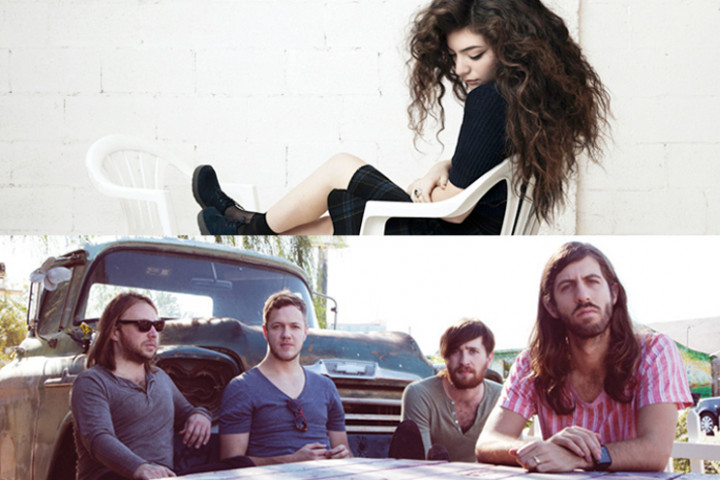 Lorde & Imagine Dragons VMA 2014