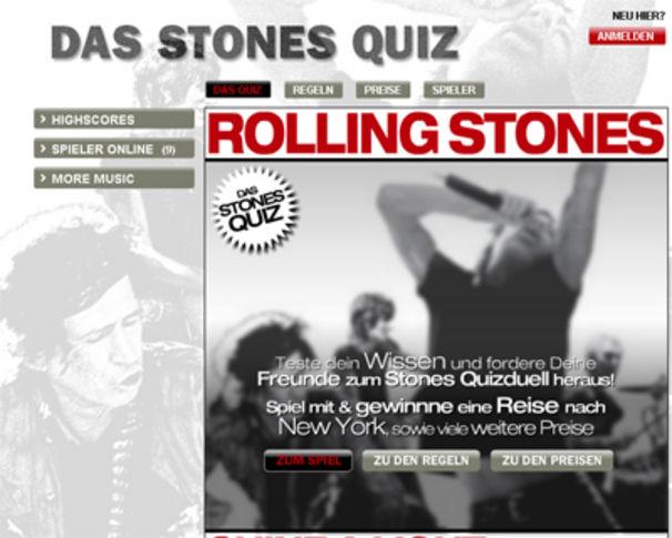 The Rolling Stones, Das Quiz zu Shine A Light, Stones Quiz