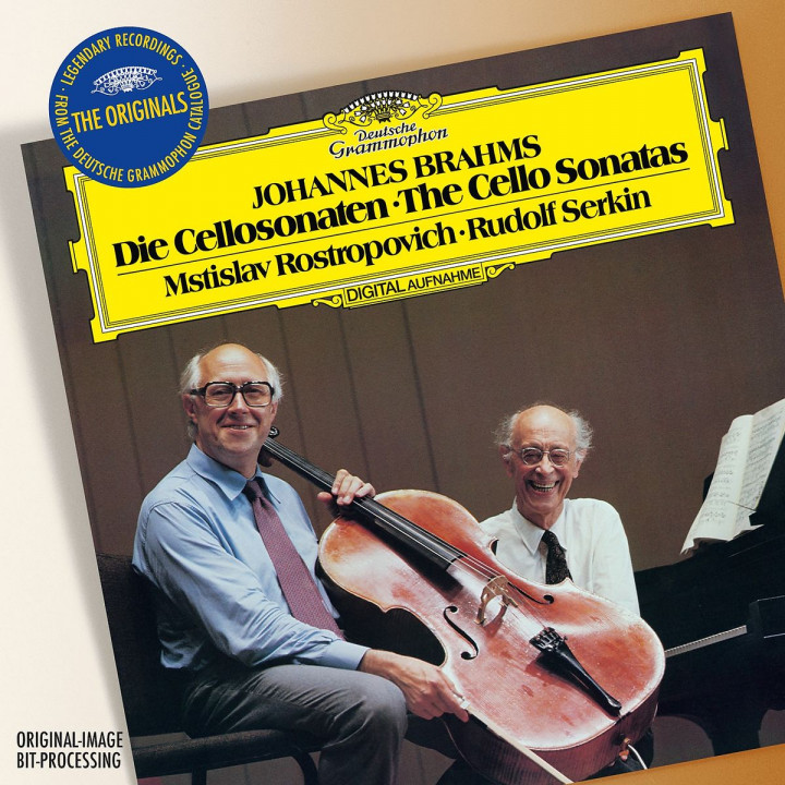 Brahms: Sonatas For Cello And Piano No.1 In E Minor, Op.38 & No.2 In F, Op.99