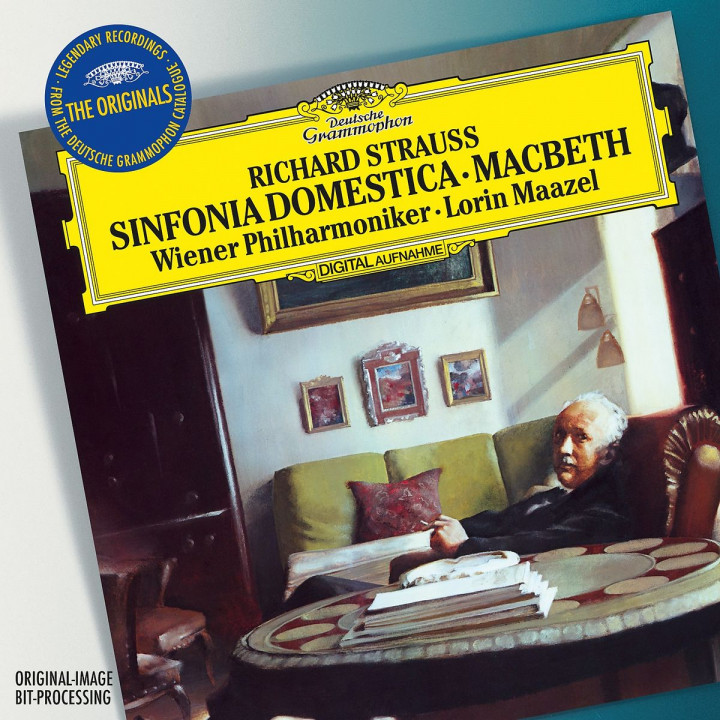 Strauss, R.: Sinfonia Domestica, Op.53 &  Macbeth, Op.23