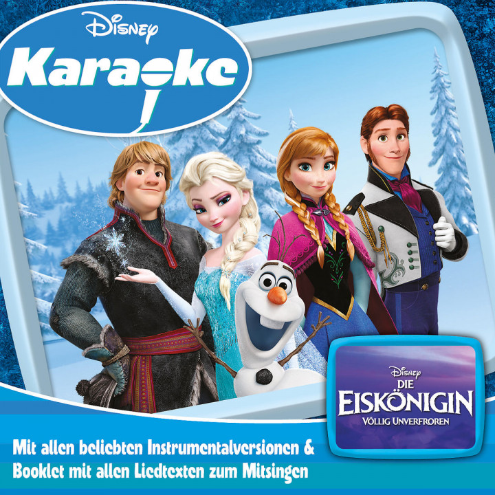 Disney Karaoke Series: Die Eiskönigin Völlig Unverfroren