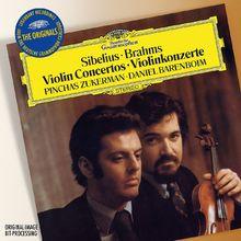 The Originals, Brahms/Sibelius: Violinkonzerte, 00028947937722