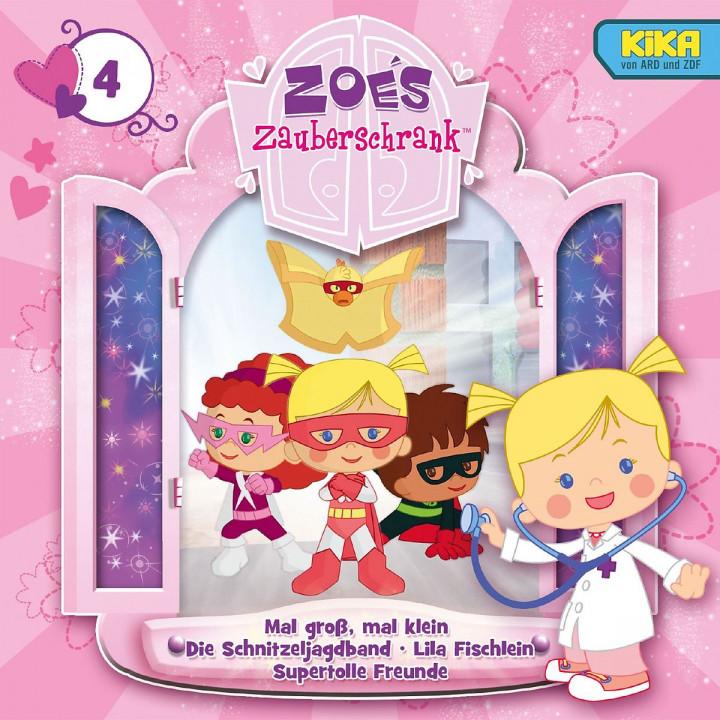 04: Mal groß, mal klein / Die Schnitzeljagband / Lila Fischlein / Supertolle Freunde