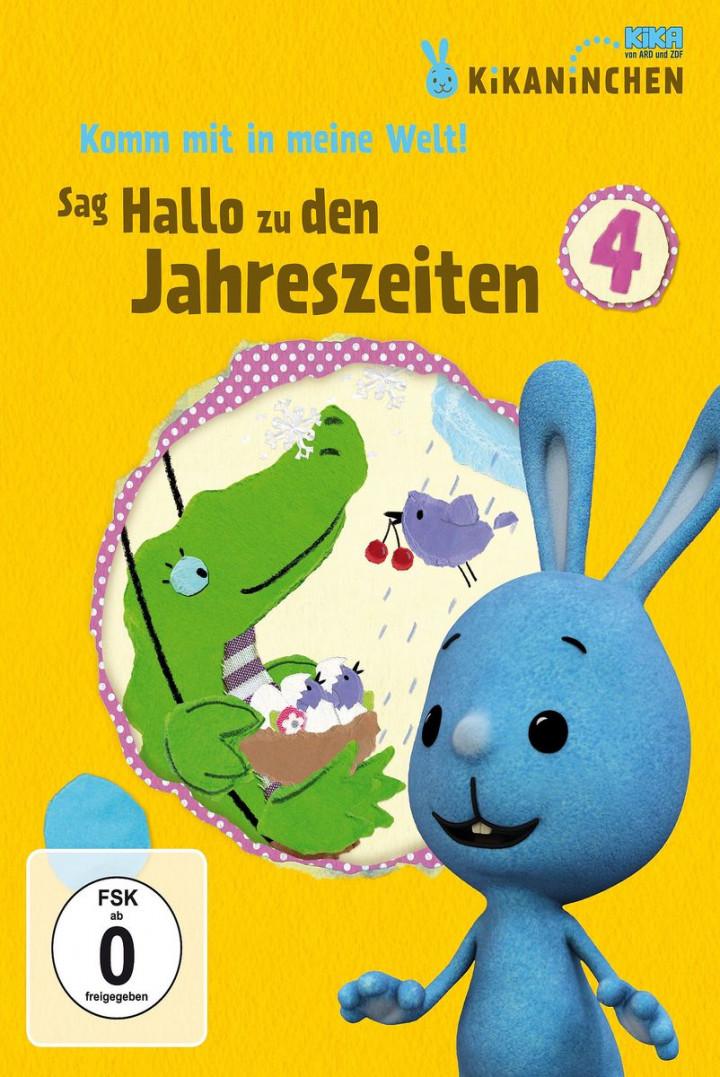 Sag Hallo zu den Jahreszeiten! - KiKANiNCHEN-DVD 4