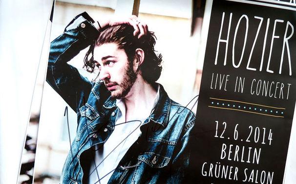 Hozier, Gewinnspiel: Staubt jetzt ein handsigniertes Poster von Hozier für eure vier Wände ab