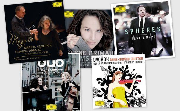 Diverse Künstler, Revival der Schallplatte: 5 klassische Erfolgsalben auf 180g-Vinyl exklusiv bei jpc