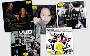 Hélène Grimaud, Revival der Schallplatte: 5 klassische Erfolgsalben auf 180g-Vinyl exklusiv bei jpc