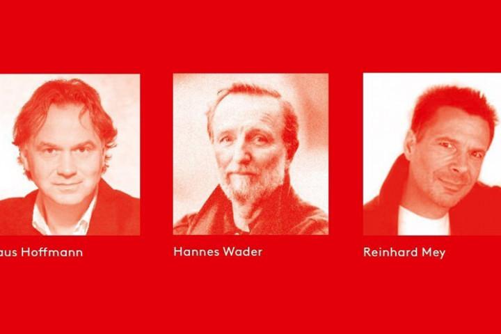 Hannes Wader, Klaus Hoffmann, Reinhard Mey 2014