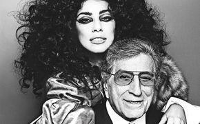 Tony Bennett, Grammy Moments: Tony Bennett und Lady Gaga mit Duett bei den Grammy Awards 2015 auf der Bühne