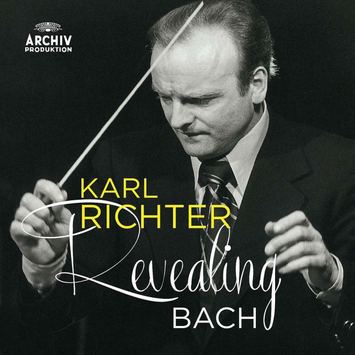 Karl Richter - Revealing Bach (Cembalowerke u.a.)