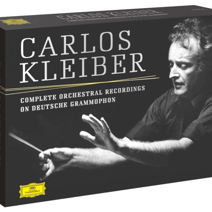 Carlos Kleiber: Sämtliche Orchester-Aufnahmen bei DG