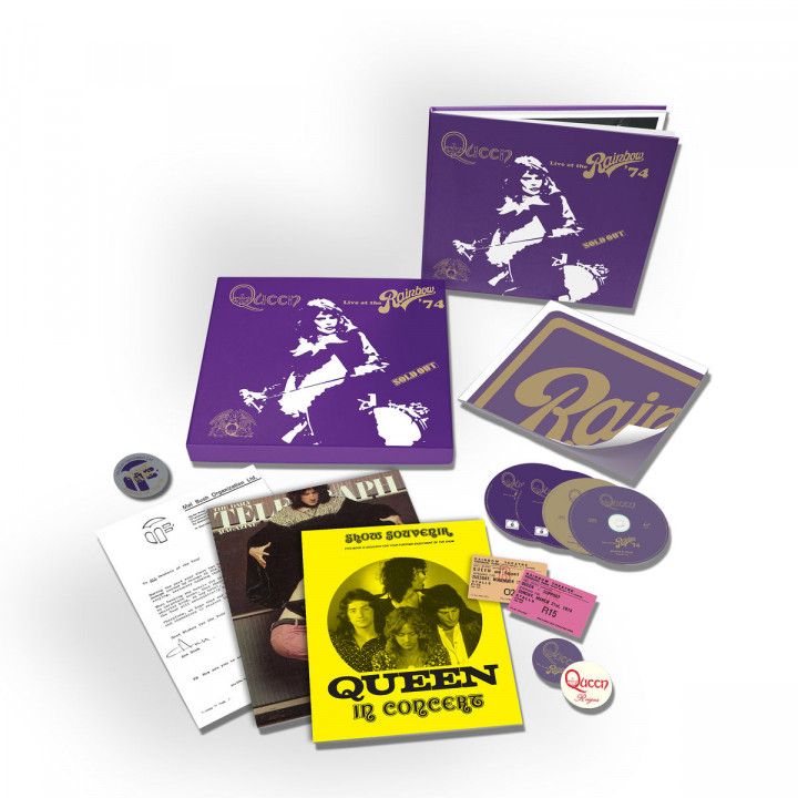 Live At The Rainbow (limited Super Deluxe Boxset)