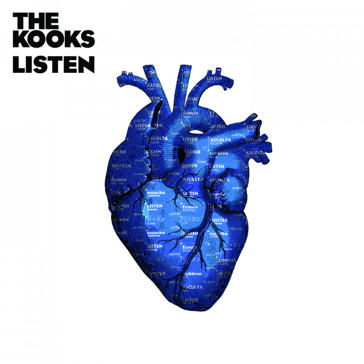 The Kooks Listen Cover STandard & LP