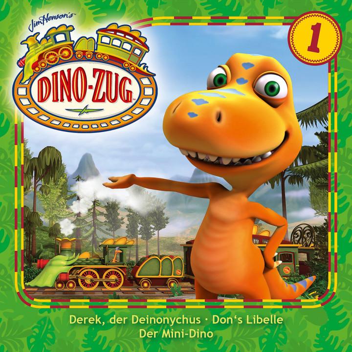 01: Derek, der Deinonychus / Don's Libelle / Der Mini-Dino