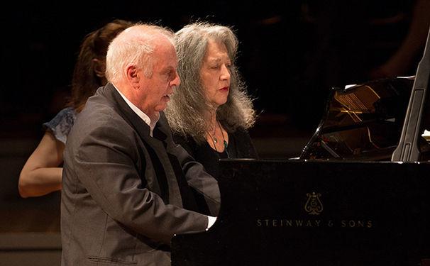 Daniel Barenboim, Daniel Barenboim & Martha Argerich in Buenos Aires - PERAL MUSIC veröffentlicht Audio-Live-Mitschnitt