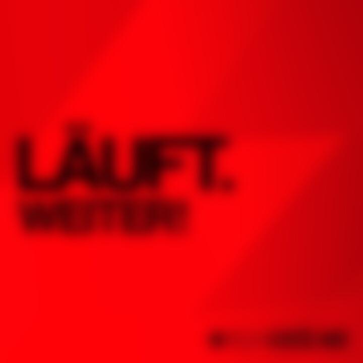 Felix Kröcher - Läuft. Weiter - UMG Cover