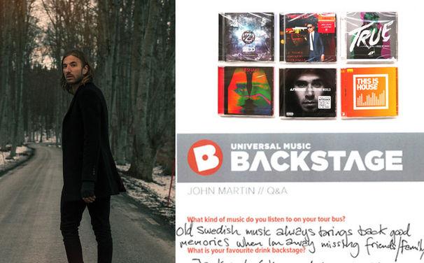 Avicii, Gewinnt hier ein EDM- Paket inklusive des handschriftlichen Q&A Interviews von John Martin