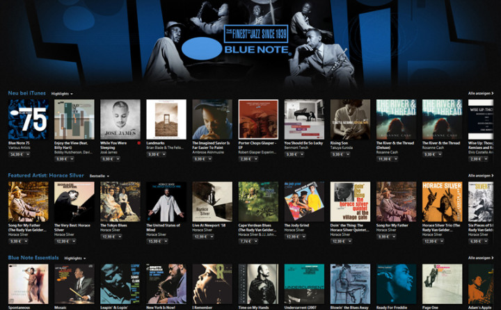 iTunes Blue Note Room