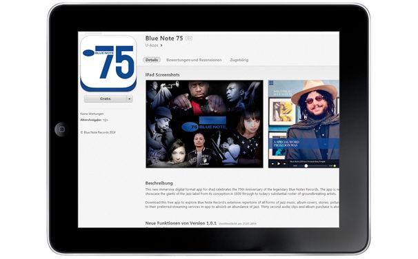 Various Artists, Neue iPad-App zum 75-jährgen Jubiläum von Blue Note