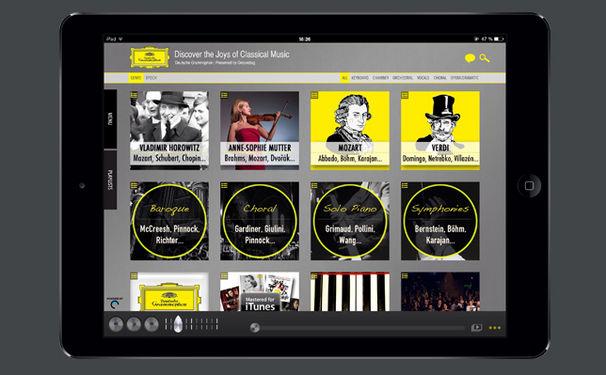 Diverse Künstler, Klassik neu entdecken mit der App DG DISCOVERY für iOS