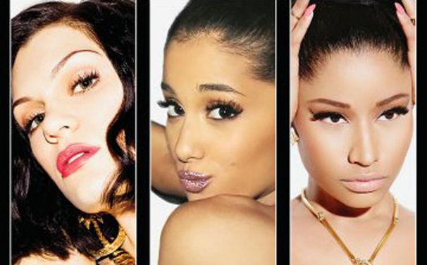 Jessie J, Jessie J, Ariana Grande und Nicki Minaj eröffnen die MTV Video Music Awards