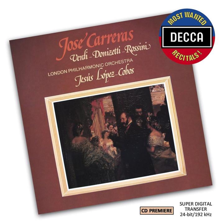 José Carreras - Verdi, Donizetti, Rossini