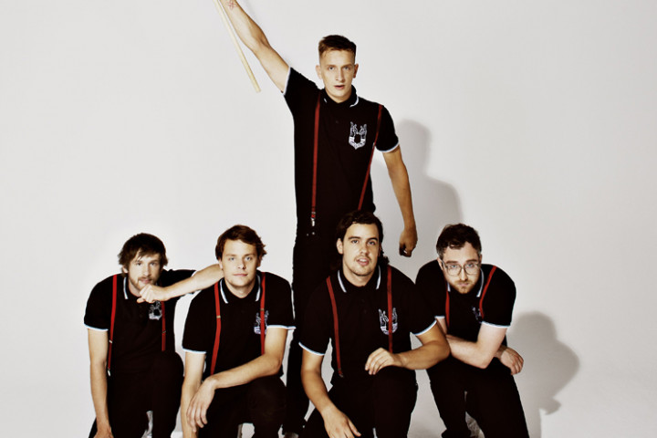 Kraftklub - In schwarz - 2014