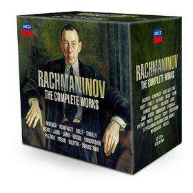 Box-Sets und Editionen, Rachmaninoff: Sämtliche Werke, 00028947867654