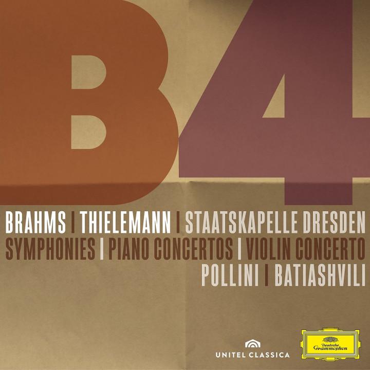 BRAHMS Sinfonien/Ouverturen/Klavierkonzerte