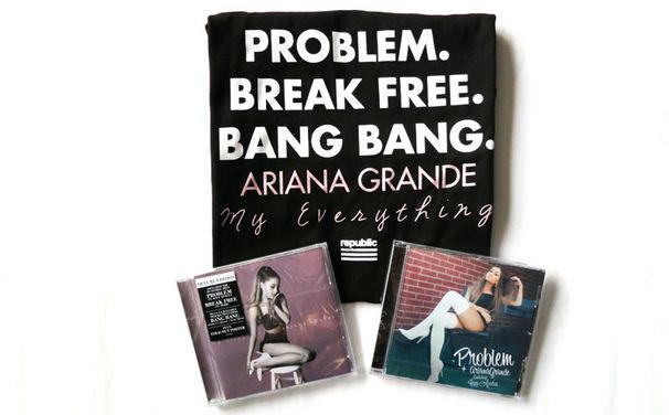 Ariana Grande, Gewinnt hier ein großes Ariana Grande Fan-Paket