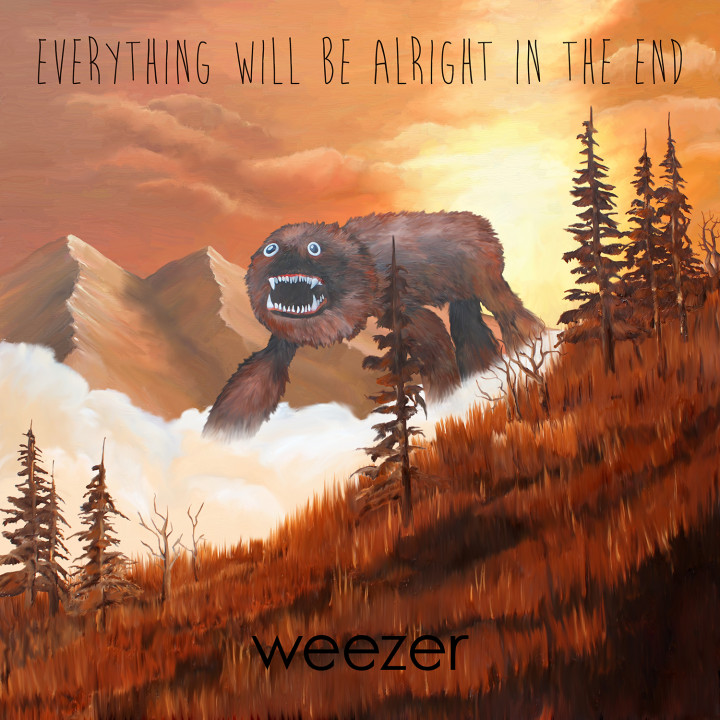 Weezer Everything will be alright in the end Album 2014 cover