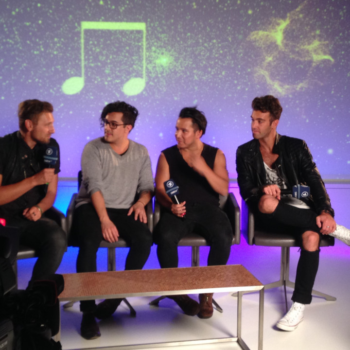 American Authors SWR3 New Pop Festival