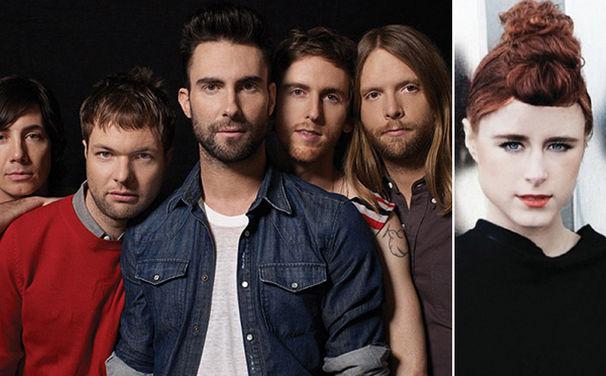 Maroon 5, Hier nochmal ansehen: Maroon 5 und Kiesza zu Gast bei Schlag den Raab