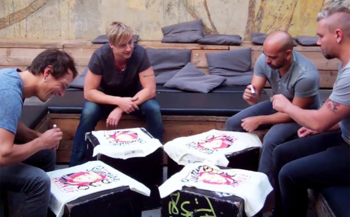 Shirt Signing Session
