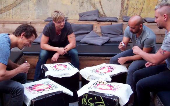 Sunrise Avenue - Shirt Signing Session