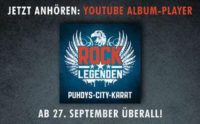 Puhdys, Jetzt in das gemeinsame Album Rock Legenden von Puhdys, City und Karat reinhören!