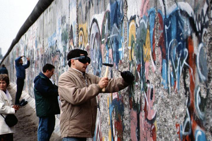 Berlin 1989, Fall der Mauer