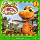 Der Dino-Zug, 01: Derek, der Deinonychus / Don's Libelle / Der Mini-Dino, 00602537579693