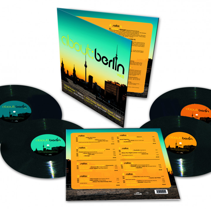 about: berlin vol. 8 LP