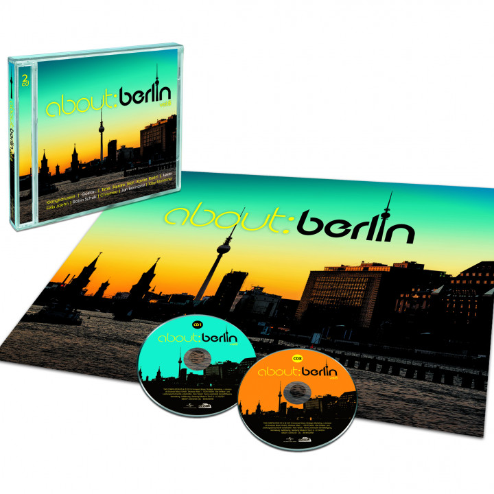 about: berlin vol: 8 (3CD ltd. Edition)