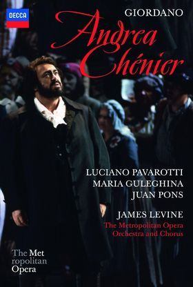 Luciano Pavarotti, Giordano: Andrea Chénier, 00044007434215