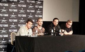 Tokio Hotel, Pressekonferenz und Blitzlichtgewitter: Tokio Hotel sprechen über ihr neues Album Kings Of Suburbia