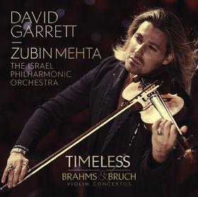 David Garrett, TIMELESS - Brahms & Bruch Violin Concertos, 00028948110315