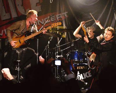 The Police, Konzerte werden nachgeholt