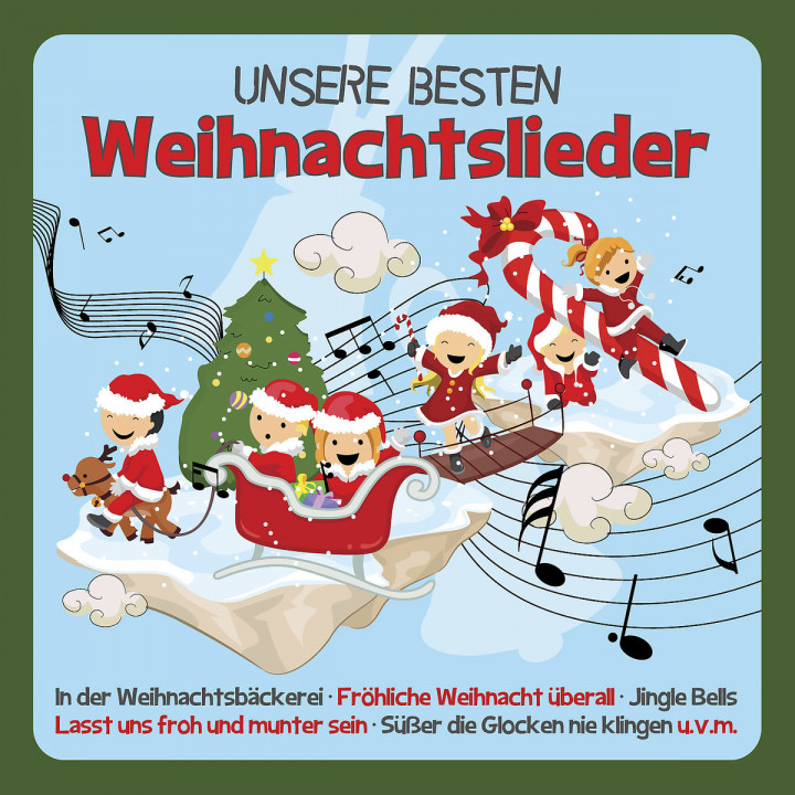 Beste Weihnachtslieder 2019.Familie Sonntag Musik Unsere Besten Weihnachtslieder