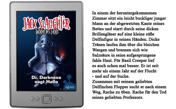 Folgenreich, Jack Slaughter – Tochter des Lichts bald auch als E-Book!