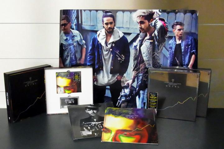 Gewinnt Tokio Hotel Pakete mit signierten Postern und Ltd Super Deluxe Edition